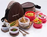 Varmora Treat Lunch Box with 3 container...