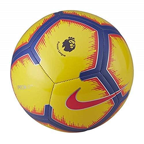 the best attitude 1573a bcebf Nike Pitch Premier League Football 2018 2019, Yellow Purple Flash Crimson,
