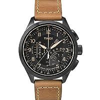 Timex T2P277 - Reloj de cuarzo para hombres, color marrón de Timex