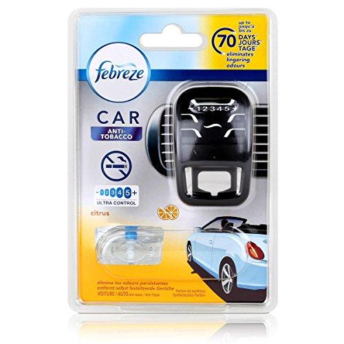 Febreze Car Fresh Escape Auto- Lufterfrischer Starter Anti-Tobacco (1er Pack)
