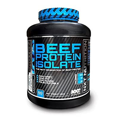 NXT Nutrition Beef Protein Isolate 1.8kg - Orange from NXT Nutrition