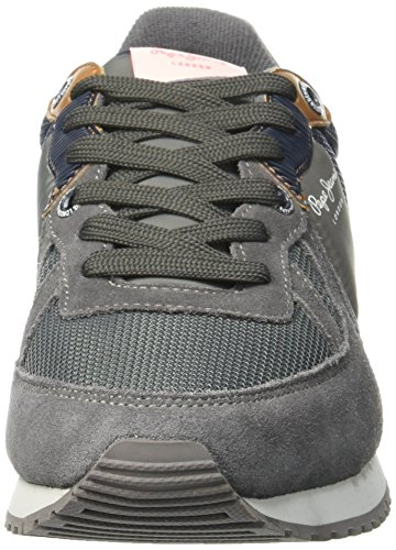 Pepe Jeans Tinker Basic, Baskets Basses Homme Gris (964Dapple)