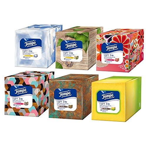 tempo-light-box-lot-de-6-boites-carrees-de-60-mouchoirs-6-x-60-mouchoirs