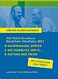 Abitur-Paket Nordrhein-Westfalen 2021. Deutsch Grundkurs - K?nigs Erl?uterungen: Ein Bundle mit allen Lekt?rehilfen zur Abiturpr?fung