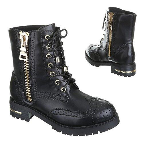 Damen Schuhe, LAURA, BOOTS Schwarz LOTTI