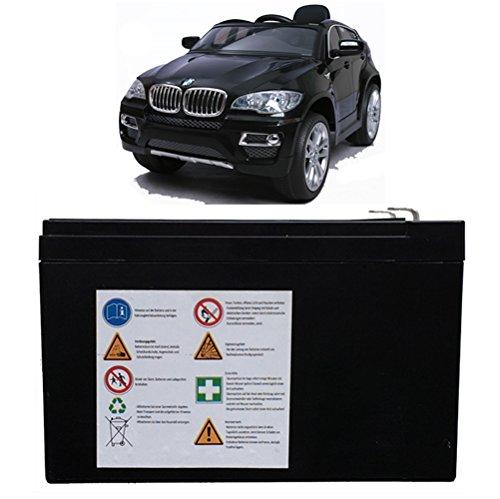 Akku für X6 BMW 12V Elektro Kinderauto Kinderfahrzeug Kinder Elektroauto