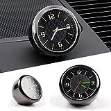 STYLINGCAR Uhr für Auto - Mini Uhren Fluoreszierende - Universal Auto luftreiniger Geschenk für Senden Sie Freunde und Verwandte (uhr)