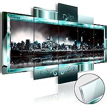 murando - Cuadro de cristal acrílico 200x100 cm - Cuadro de acrílico - Impresion en calidad fotografica – New York City Ciudad d-C-0016-k-m