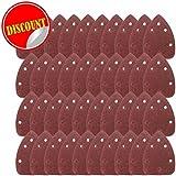40ratón hojas de lija para negro y Decker detalle Palm lijadora grados 60/80/120/240Grit