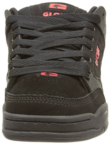 Globe  Tilt, Sneakers Basses adulte mixte Noir (Black/Red)