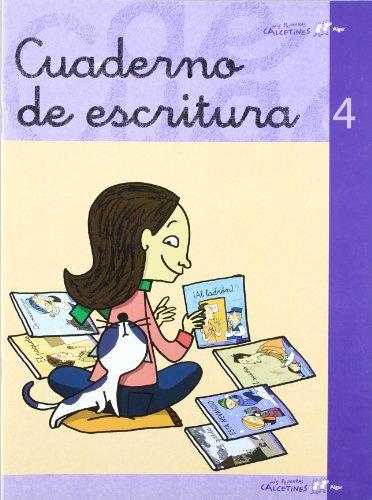 Cuaderno escritura 4 (LIBROS DE TEXTO) - 9788496514683
