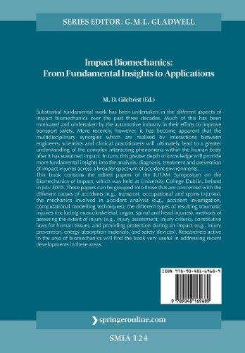 IUTAM Symposium on Impact Biomechanics: From Fundamental Insights to Applications (Solid Mechanics and Its Applications)