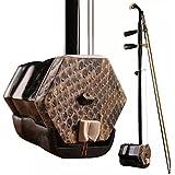 GFEI rosewood copper shaft python erhu / entrée débutant instrument / envoyez - hyun (à la harpe box),b