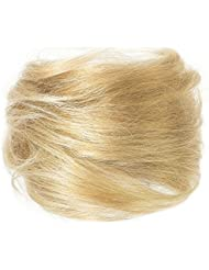 American Dream Chignon 100 % Cheveux Humains 22 Blond Plage Taille M