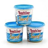 3 x Bautzner Senf mittelscharf (3 x 200ml)
