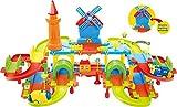 #6: Saffire Three Level Windmill Train Set with Bridges and Tunnels
