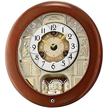 Seiko Melodies In Motion Musical Wall Clock With 18