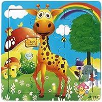 Koly® 9 Piece Jigsaw Juguetes para la educación de los niños y el aprendizaje Puzzles Juguetes (J) - Peluches y Puzzles precios baratos