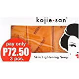 Kojie San Orange Kojic Whitening Soap (3 X 65 Grams)