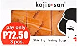 Kojie San Orange Kojic Whitening Soap (3...