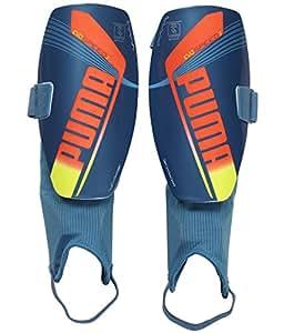 Puma Evospeed 3.2 Football Shin Pad With Anklet Shark Blue
