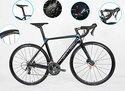 DUABOBAO Vélo De Route, Vélo De Montagne De 700C, Approprié Aux Adultes, Ultra Léger 8.5 KG...