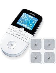 Beurer EM 49 Digital TENS/EMS elektrische Nerven- und Muskelstimulation, Massage