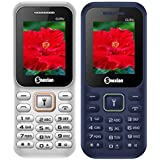 Snexian GURU 310 Feature Mobile Phone Combo Of Two Mobiles(White +Blue) With 1.8 Inch, Dual Sim, Open FM, 1000 Mah Battery, BLUETOOTH, CAMERA, Upto 16 GB Expandable Memory, BIS CERTIFIED & 1 YEAR WARRANTY