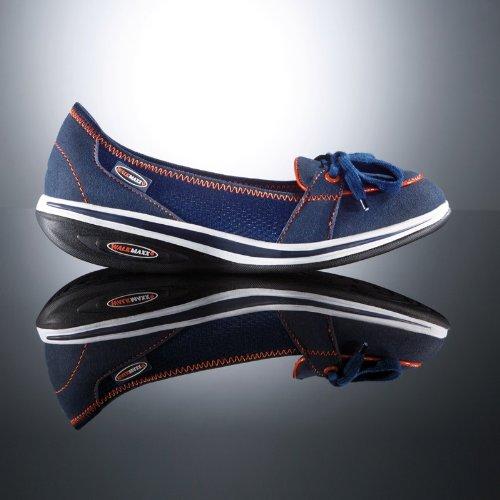 Walkmaxx Fitness-Mokassins (beige oder blau) (39, marineblau)