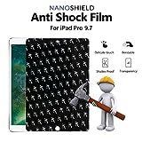#8: Blureek NANOSHIELD Tempered Screen Guard for iPad 9.7 inch (2017) \ iPad 6th Gen (2018) \ iPad AIR \ AIR 2 \ iPad Pro 2016, Waterproof \ Anti -Blue Light \ Scratch-Proof