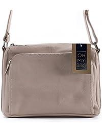 OH MY BAG Mia - Bolso cruzados de Piel para mujer compact