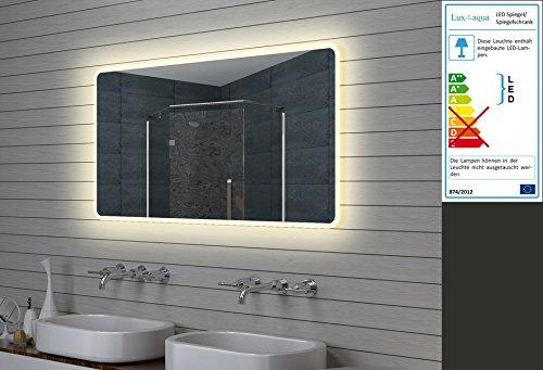 Lux-aqua Design LED Badezimmerspiegel Lichtspiegel Wandspiegel Spiegel 140x70cm
