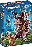 Playmobil- Knights Giocattolo Fortezza Mobile dei Guerrieri, Multicolore, 9340