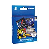 Playstation Jeu sous-Verres, Papercard, Multicolore, 1x 9x 9cm