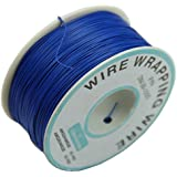 TOOGOO(R) 0.25mm Alambre-envolver Alambre 30AWG Cable 305m Nuevo (Azul)
