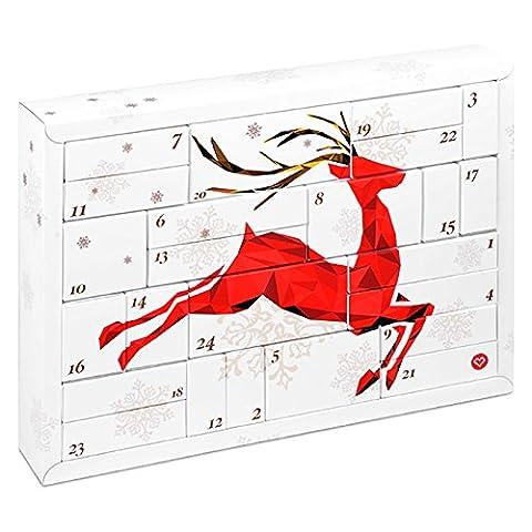 """Erotik Adventskalender """"Lovers"""" - mit 24 hochwertigen und sinnlichen Geschenken für Sie und Ihn + Booklet"""
