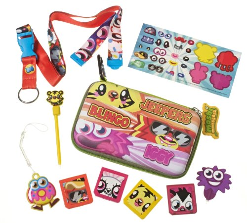 Moshi Monsters Moshlings - Pack de accesorios para Nintendo 3DS/Dsi/DS Lite (10 piezas)