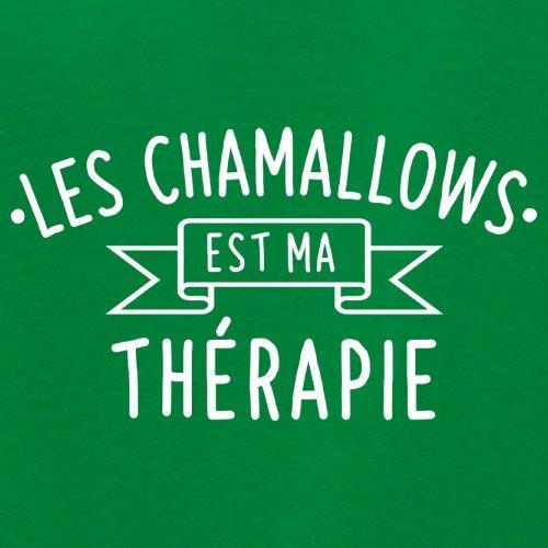 Les chamallows est ma thérapie - Femme T-Shirt - 14 couleur Vert