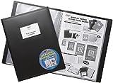 Tiger Präsentationsmappe / Portfolio mit flexiblem Einband, 40 Klarsichthüllen, DIN A4, für Fotos / Bilder