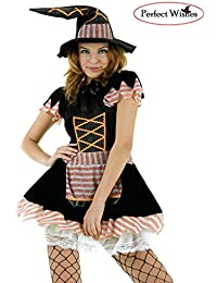 Sexy Glitter witch halloween fancy party dress (Small)