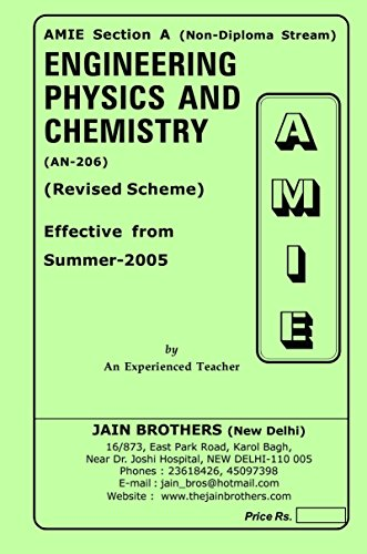 AMIE Enginering Physics and Chemsitry AN-206 Solved Paper