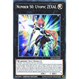 Best single card Card Yugiohs - YuGiOh : MACR-ENSE2 Limited Ed Number S0: Utopic Review