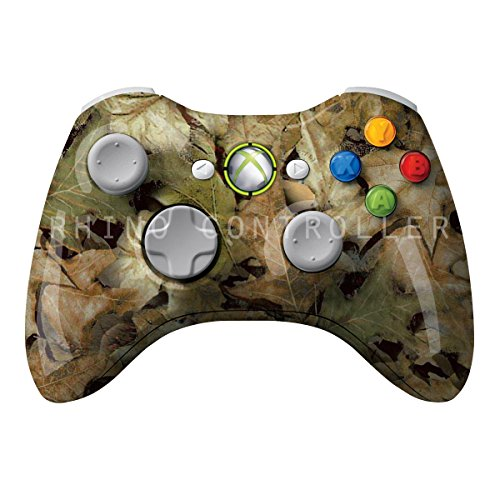 XBOX 360 Wireless Controller Glossy personlig WTP-318-Camo-Printemps-ark Painted- Uden Mods - 360 Wireless Xbox Controller Camo