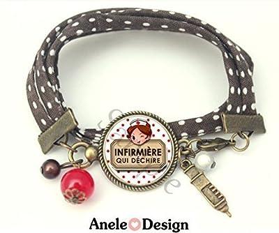 Bracelet liberty Infirmière qui Déchire
