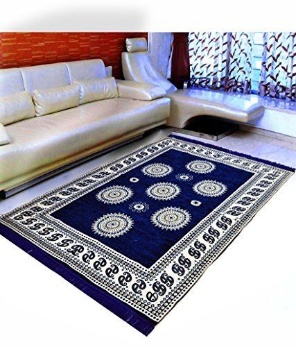 Warmland Floral Chenille Carpet - 60
