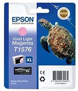 Epson T1576 - Print cartridge - 1 x vivid light magenta
