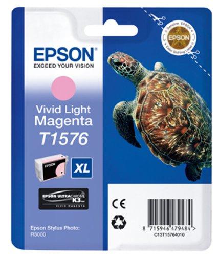 Epson T1576 Cartouche d'encre d'origine Vivid Magenta Clair