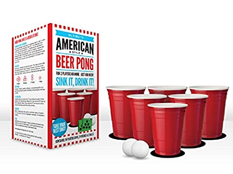 Ultimate American Style Beer Pong Set By Headrush