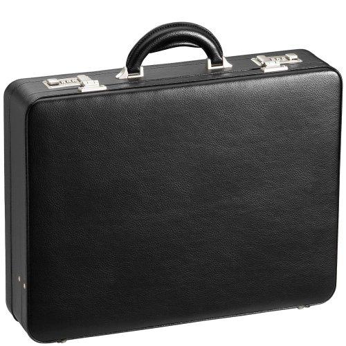 D&N Tradition Business Aktenkoffer mit vielseitiger Inneneinteilung 46 cm 01 schwarz