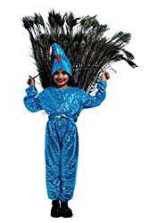 Peacock Fancy dress costume for kids (2-4 yrs)